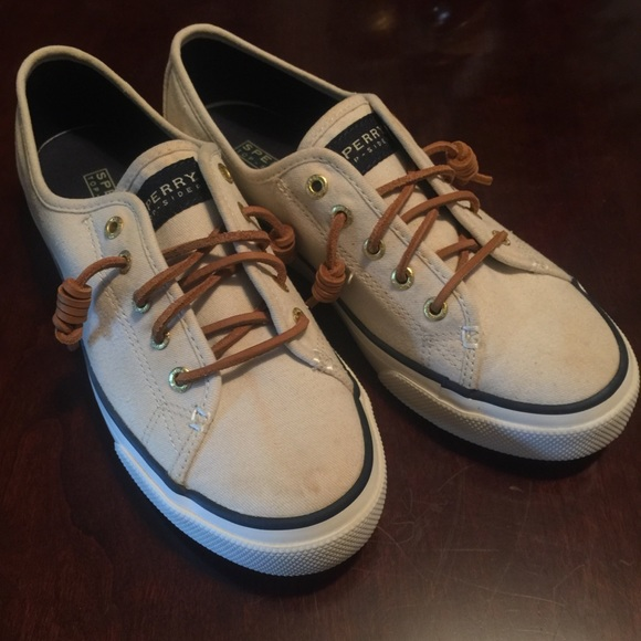 Final Sperry Seacoast Ivory Canvas